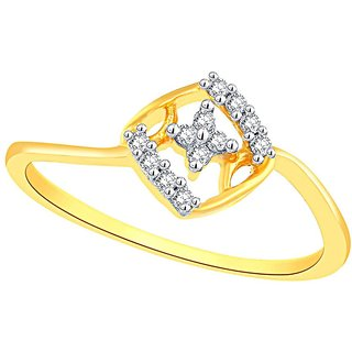 Gili Diamond Ring DGPSR0021SI-JK18Y
