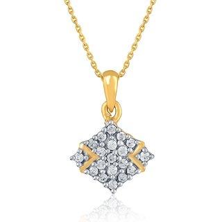 Sangini Diamond Pendant DDP00725SI-JK18Y