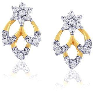 Nakshatra Diamond Earrings DDE02735SI-JK18Y
