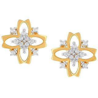 Asmi Diamond Earrings PE21243SI-JK18Y