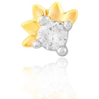 Shuddhi Diamond Nosepin DDJ00327SI-JK18Y