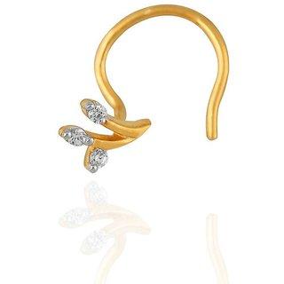 Shuddhi Diamond Nosepin LJ4110SI-JK18Y