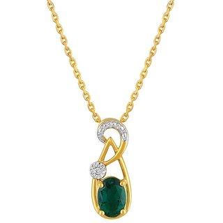 Nirvana Diamond Pendant PP25315SI-JK18Y