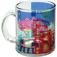The Elephant Comoany Elephant Savari Glass Coffee Mug