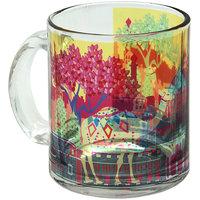 The Elephant Comoany Indian Caravan Serai Glass Coffee Mug
