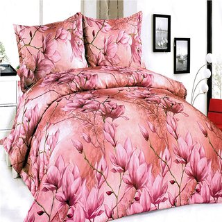 3D Printed Double BedSheet or bed sheet with two pillow cover.!! BS204_1