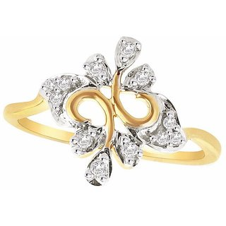Sangini Diamond Ring IDR00923SI-JK18Y