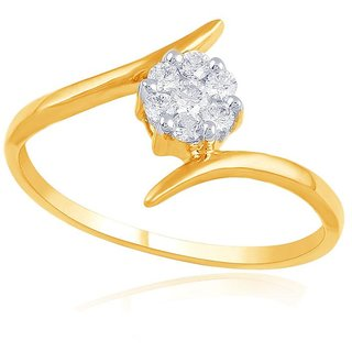 Nirvana Diamond Ring RDR00008SI-JK18Y