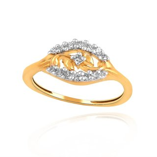 Maya Diamond Diamond Ring PR12584SI-JK18Y