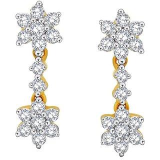 Nakshatra Diamond Earrings DDE01928SI-JK18Y