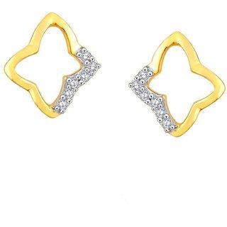 Asmi Diamond Earrings PE25640SI-JK18Y