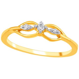 Asmi Diamond Ring PR18395SI-JK18Y