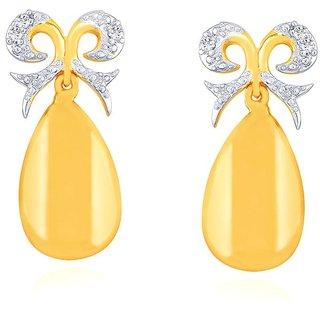 Nirvana Diamond Earrings AAEP844SI-JK18Y
