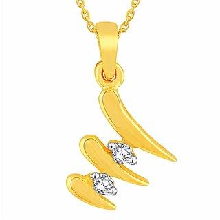 Beautiful diamond pendant by Diya