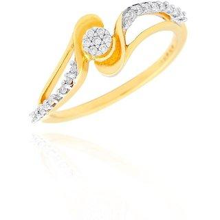 Nirvana Diamond Ring PRK077SI-JK18Y