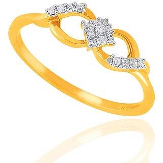 Asmi Diamond Ring GIR00050SI-JK18Y