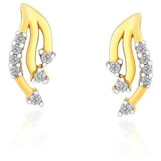 Asmi Diamond Earrings DDE00694SI-JK18Y