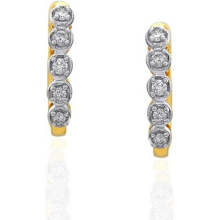 Gili Diamond Earrings FJ22558SI-JK18Y