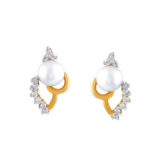 Shuddhi Diamond Earrings HIE00054SI-JK18Y