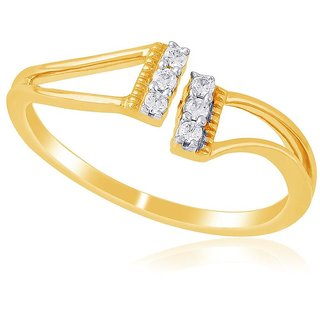 Asmi Diamond Ring DDR03221SI-JK18Y