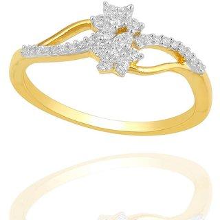 Maya Diamond Diamond Ring PR21411SI-JK18Y