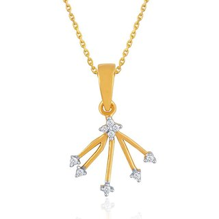 Beautiful diamond pendant by Diya