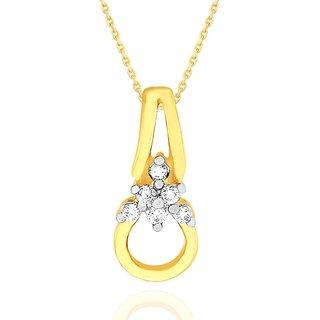 Asmi Diamond Pendant GIP00013SI-JK18Y
