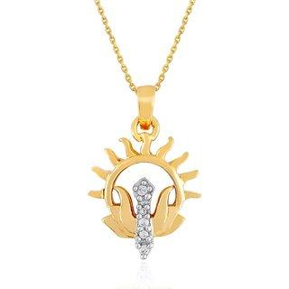Beautiful diamond pendant by Saumya