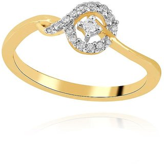 Asmi Diamond Ring AAR103SI-JK18Y