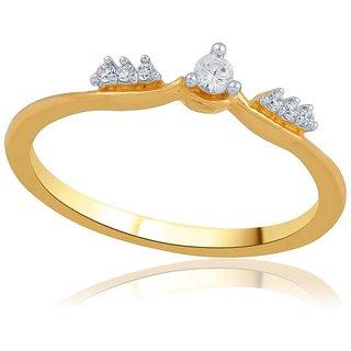 Asmi Diamond Ring ADR00397SI-JK18Y