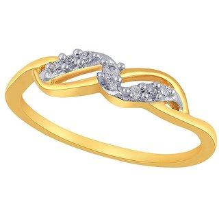 Asmi Diamond Ring PR18840SI-JK18Y