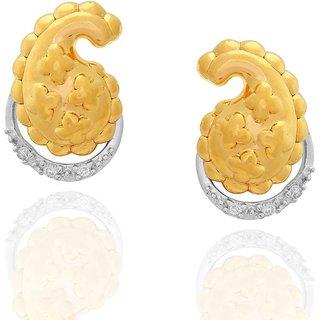 Nirvana Diamond Earrings DDE03168SI-JK18Y