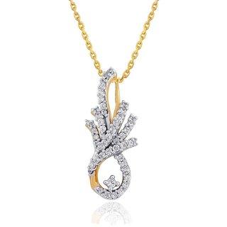 Asmi Diamond Pendant AAP102SI-JK18Y