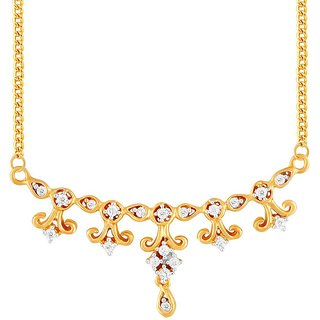 Sangini Diamond Mangalsutra PRA1T3212SI-JK18Y