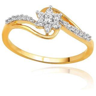 Maya Diamond Diamond Ring PR21431SI-JK18Y