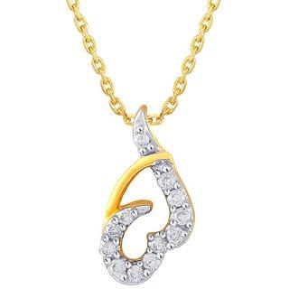 Sangini Diamond Pendant IDP00289SI-JK18Y