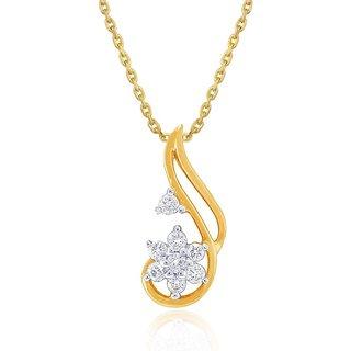 Nakshatra Diamond Pendant DDP02446SI-JK18Y