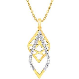 Maya Diamond Diamond Pendant GIP00261SI-JK18Y