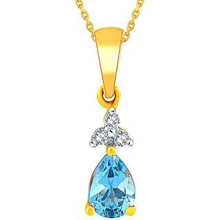 Shuddhi Diamond Pendant GIP00048SI-JK18Y
