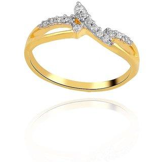 Asmi Diamond Ring ADR00399SI-JK18Y
