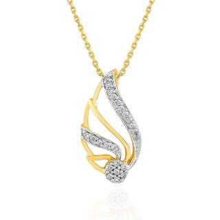 Nirvana Diamond Pendant PPM580SI-JK18Y