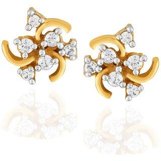 Sangini Diamond Earrings AE573SI-JK18Y