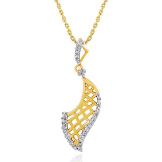 Nirvana Diamond Pendant AAP083SI-JK18Y