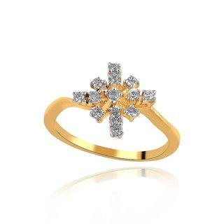 Maya Diamond Diamond Ring PR13272SI-JK18Y