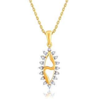 Shuddhi Diamond Pendant PP15797SI-JK18Y