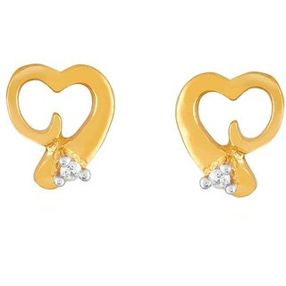 Asmi Diamond Earrings ADE00535SI-JK18Y