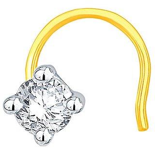 Asmi Diamond Nosepin PJ11113SI-JK18Y