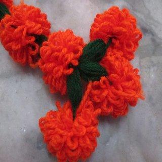 Orange Garland of marigold Flower