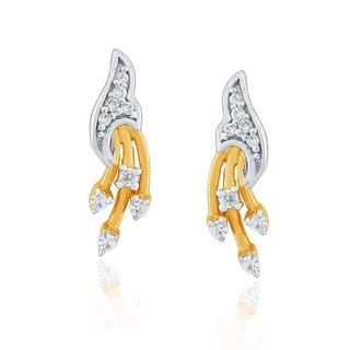Asmi Diamond Earrings DDE00703SI-JK18Y