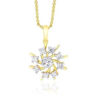 Shuddhi Diamond Pendant NPC670SI-JK18Y